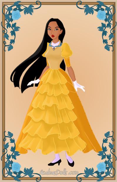 Pocahontas as Jane1 by Heroine-FA-C-n-Xover