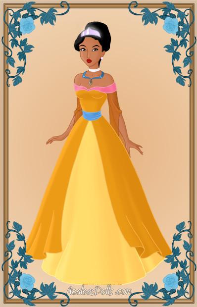 Pocahontas as Anastasia11 by Heroine-FA-C-n-Xover