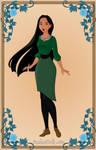 Pocahontas as Anastasia6