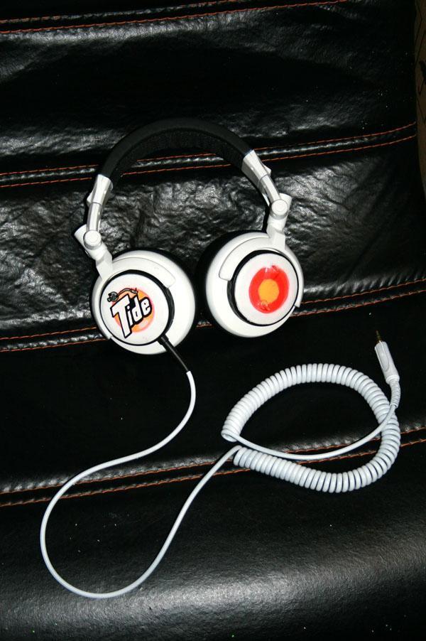 Tide laser headphones