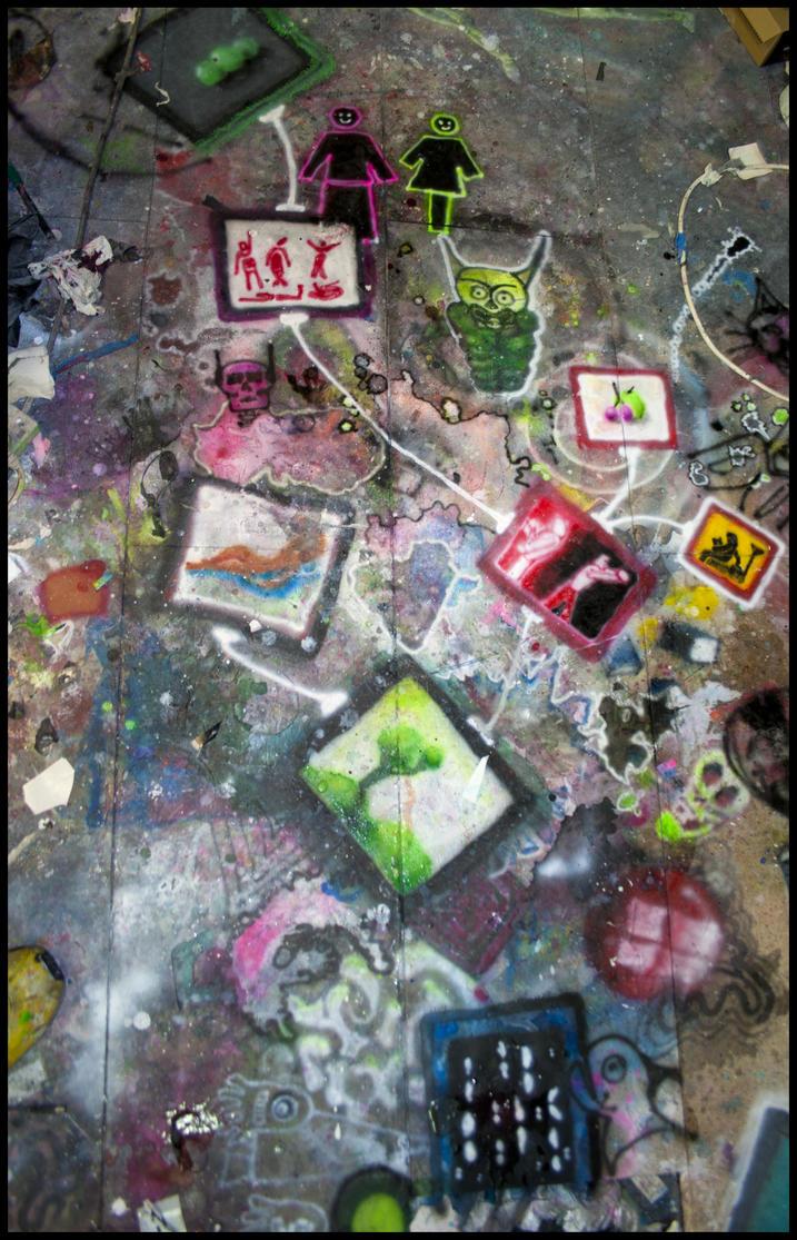 Artsplosion All Over The Floor By Dj Jfunk On Deviantart