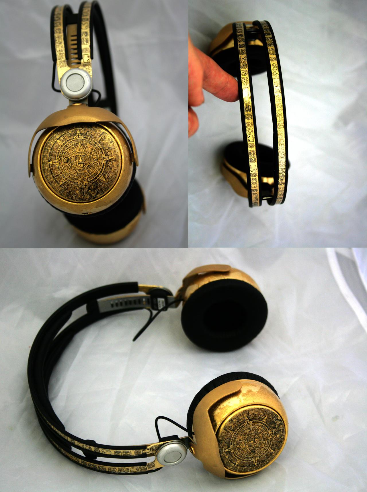 Mayan Gold DT1350 Headphones by DJ-JFunk