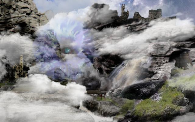 Mountain's Spirit by Allanrya