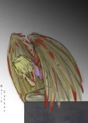 Broken-angel by Melain-Ishtar by marik-club