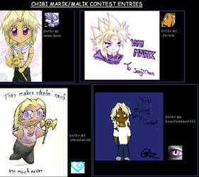 Chibi Marik Contest Entries by marik-club