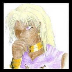 YGO: Malik- colored by marik-club