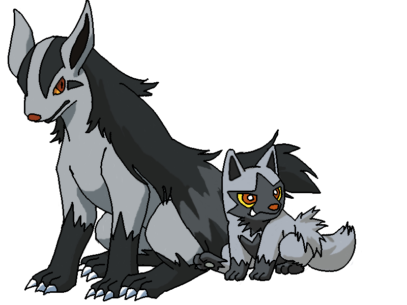 mightyena coloring pages - photo#34