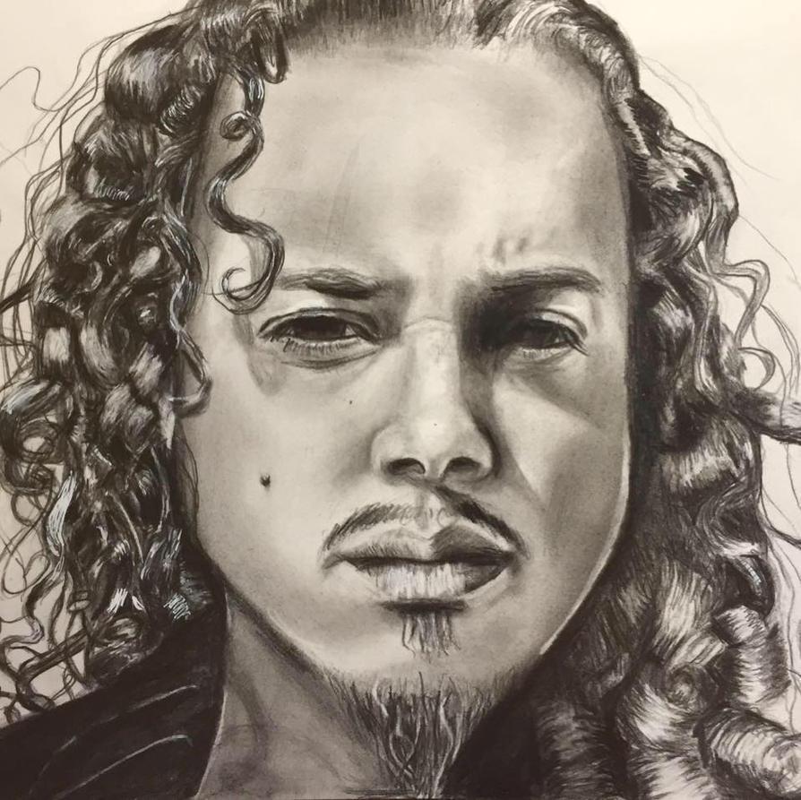 Kirk Hammett by EnglemanArt