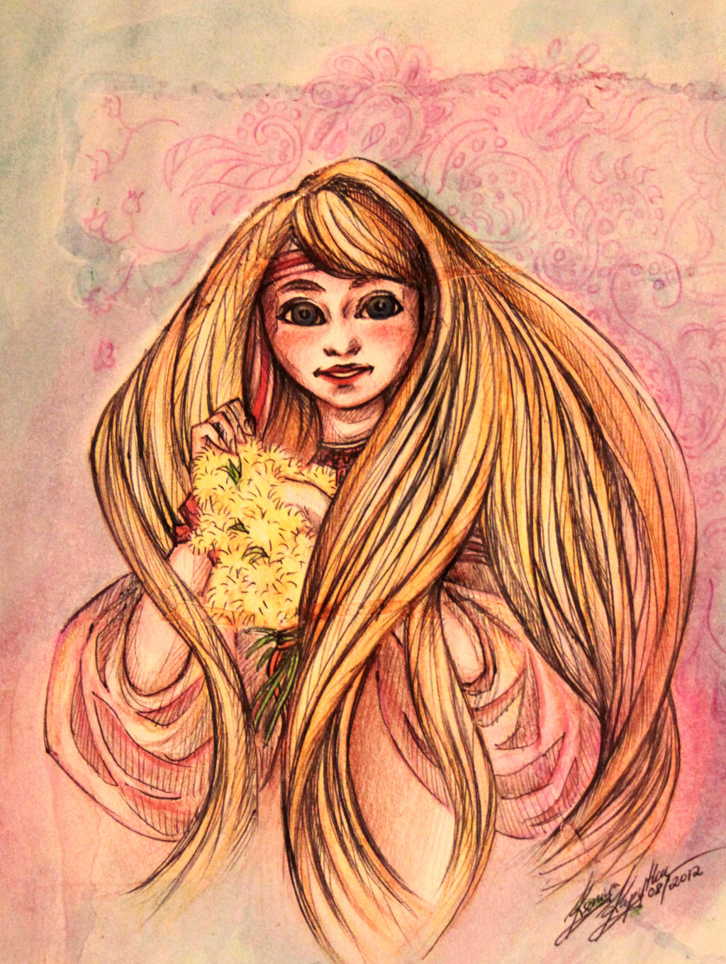 Dandelions by Sushki