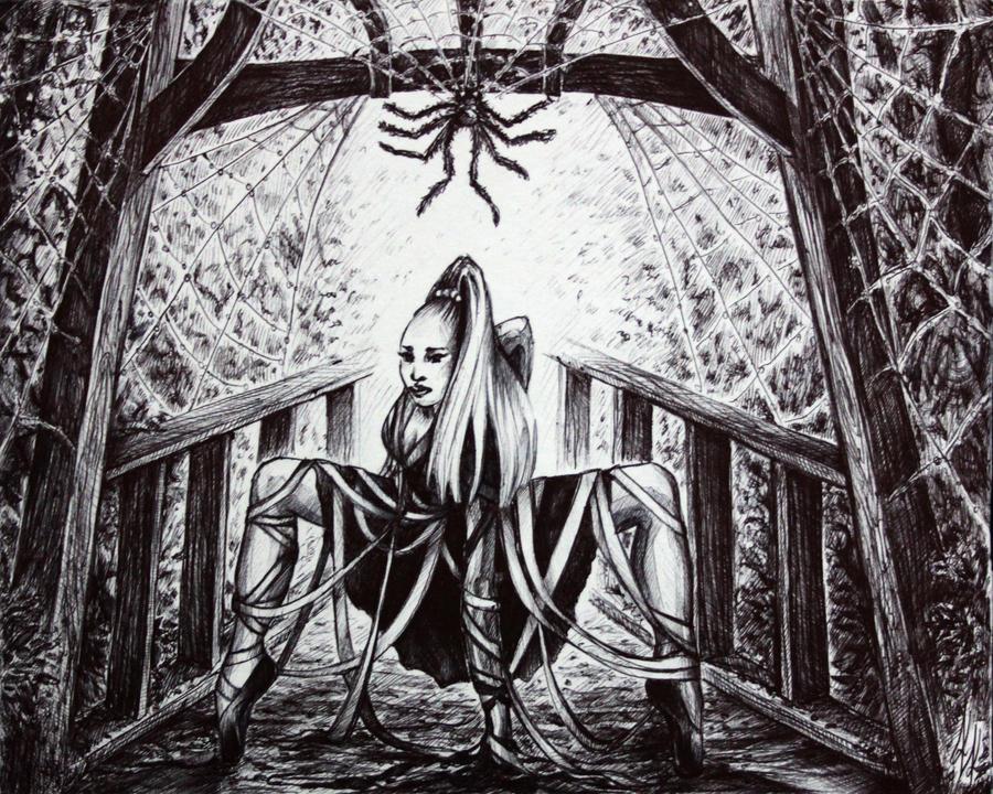 Long Legged Spider's Dance by Sushki