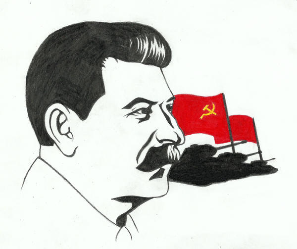 Joseph Stalin By Rajaahsani On DeviantArt