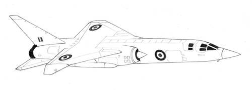 BAC TSR-2 by Rajaahsani