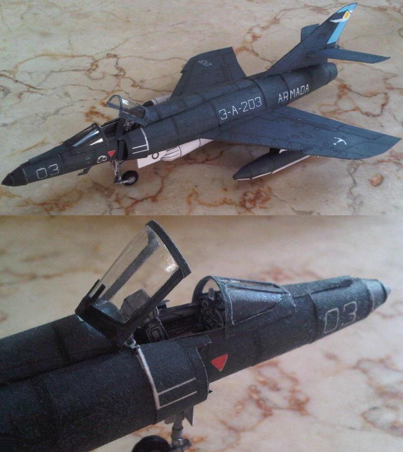 Dassault-breguet super etendard by Rajaahsani