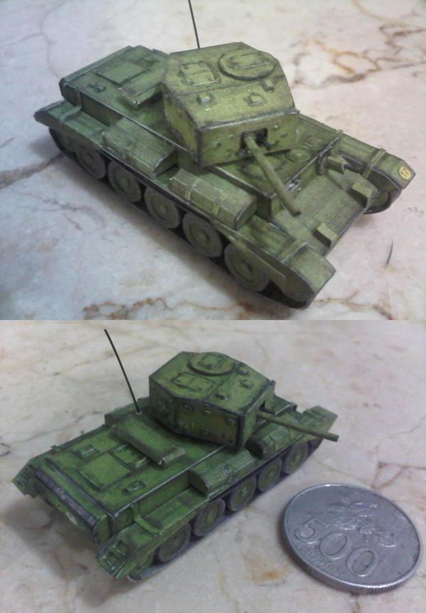 Cruiser tank Mk.VIII Cromwell IV by Rajaahsani