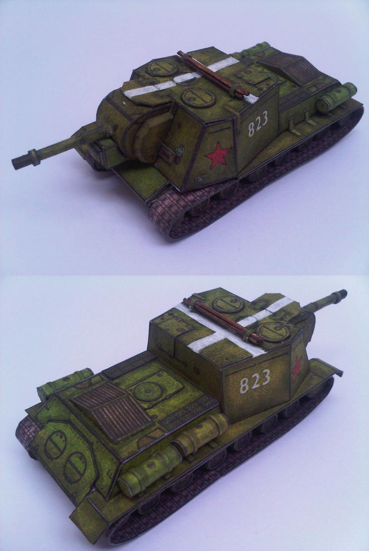 ISU-152 by Rajaahsani
