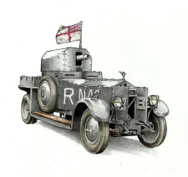 Rolls-royce Pattern 1920 Mk.I by Rajaahsani