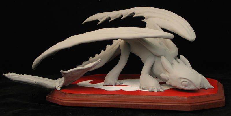 Toothless Maquette