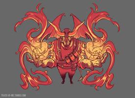 Tf2 - Fiery Pyro by 2Dark