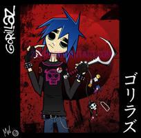 Gorirazu - Gorillaz - 2D
