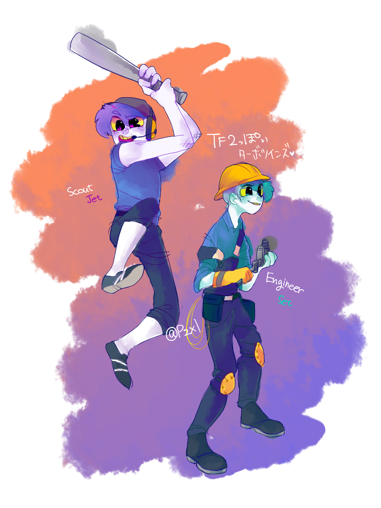 TF2 and TT by Tinypop