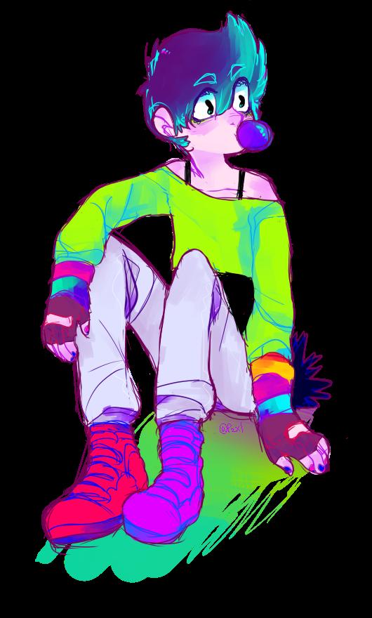 Vivid color Oscar by Tinypop
