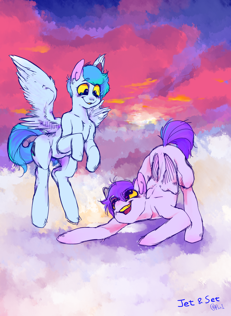 on the cloud by Tinypop