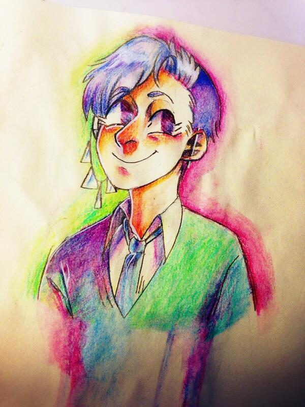 coloring boy by Tinypop