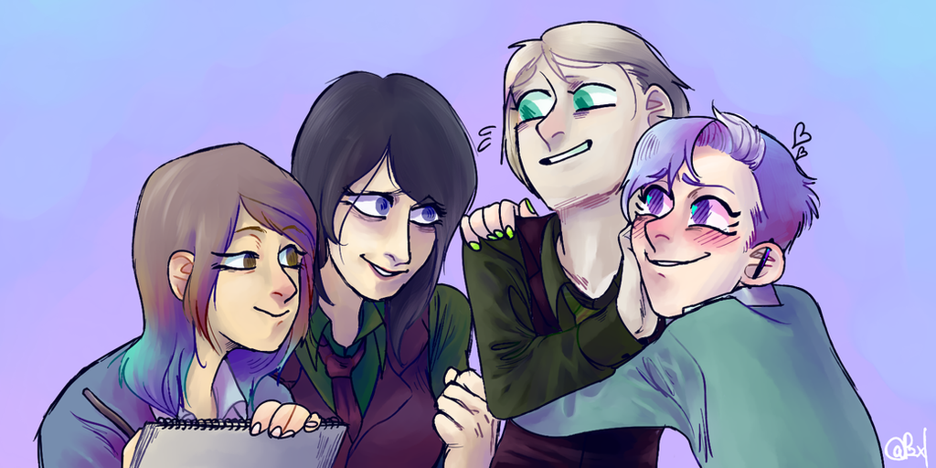 Horacio's friends[Twitter] by Tinypop