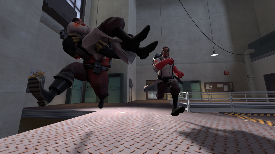 [SFM] shit! they're coming! [test] by Tinypop
