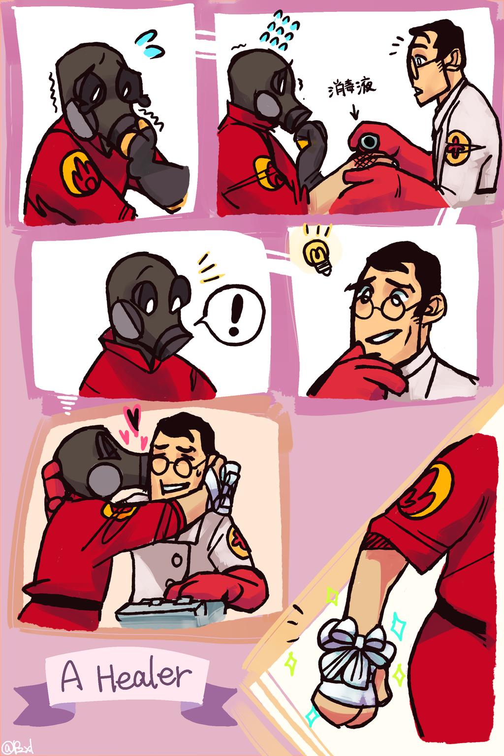 A Healer by Tinypop