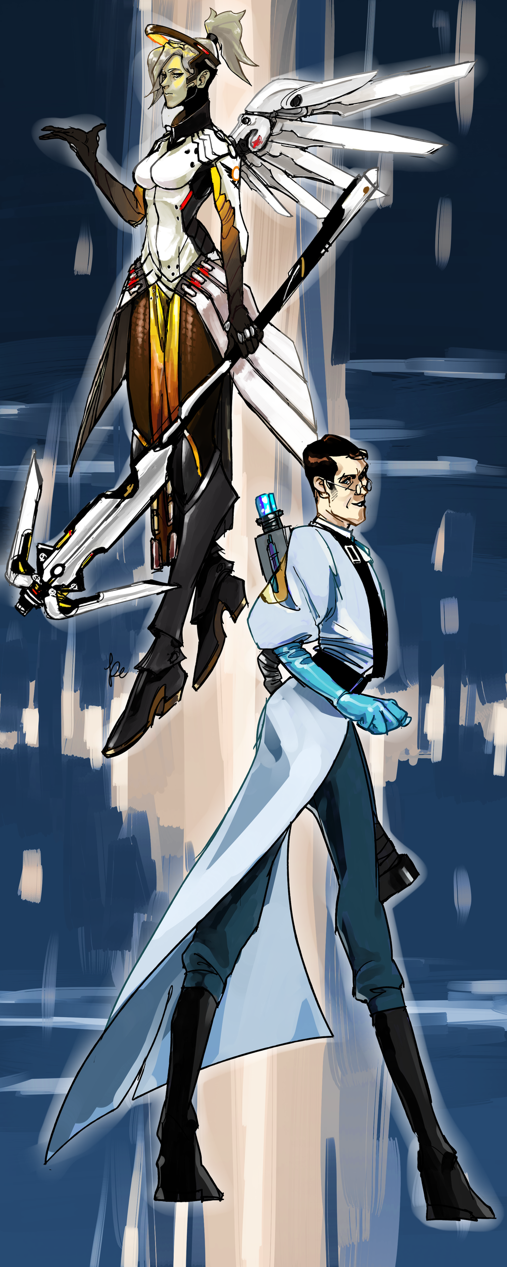 Mercy And Medic by Tinypop