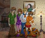 ANIMEFIED:Scooby Doo Gang