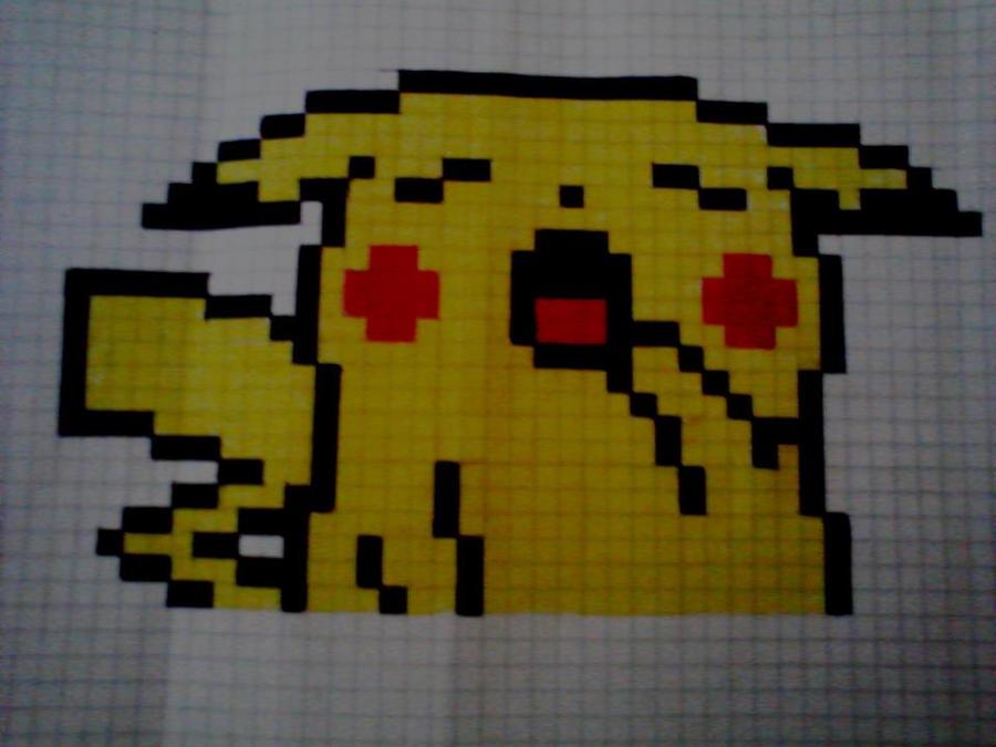 Pikachu Pixel Art Minecraft Minecraft Pixel Art Pikachu  : pikachupixelbyotakupain d5lkhpr from vacances-mediterranee.info size 900 x 675 jpeg 70kB