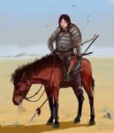 Mongol woman-warrior