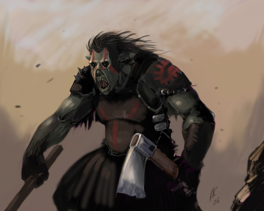 The Black Horde Just_Orc_by_ShWaK