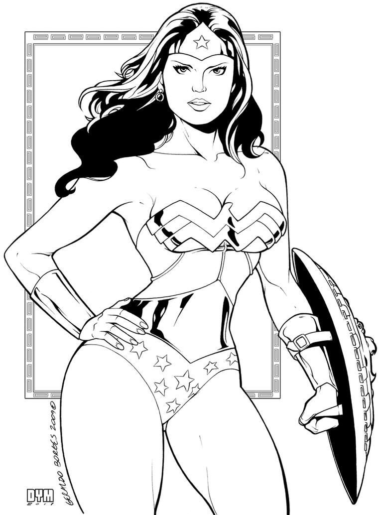 Coloring Pages Wonder Woman Printable Coloring Pages wonder woman coloring pages futpal com eassume