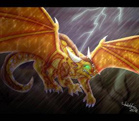 [WINGS OF FIRE FANART] Storm