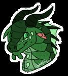[WINGS OF FIRE FANART] Turtle Sticker