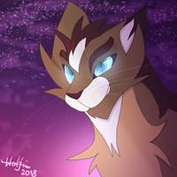 [WARRIOR CATS FANART] Hawkfrost by TavusaWarrior