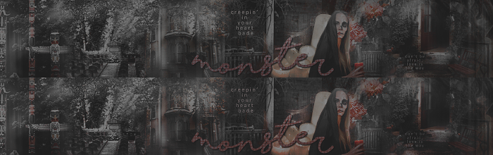 [Banner] Monster by TheEdgeOfDemi