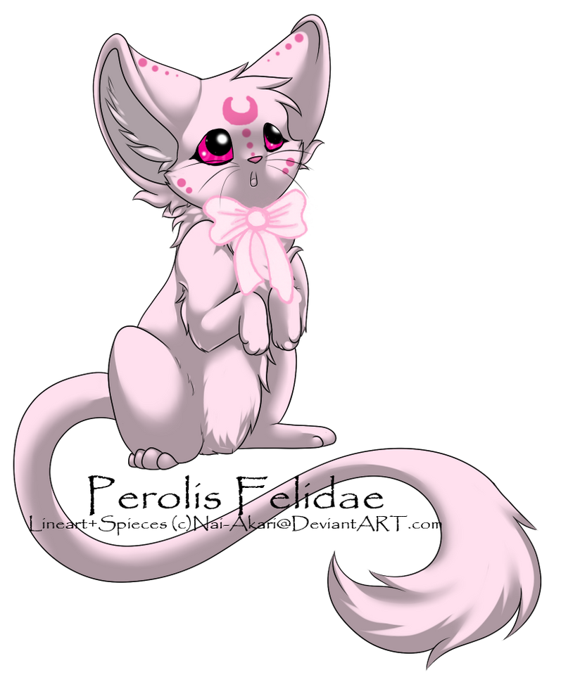 Pink Perolis Felidae: CLOSED by RainCloudAdopts