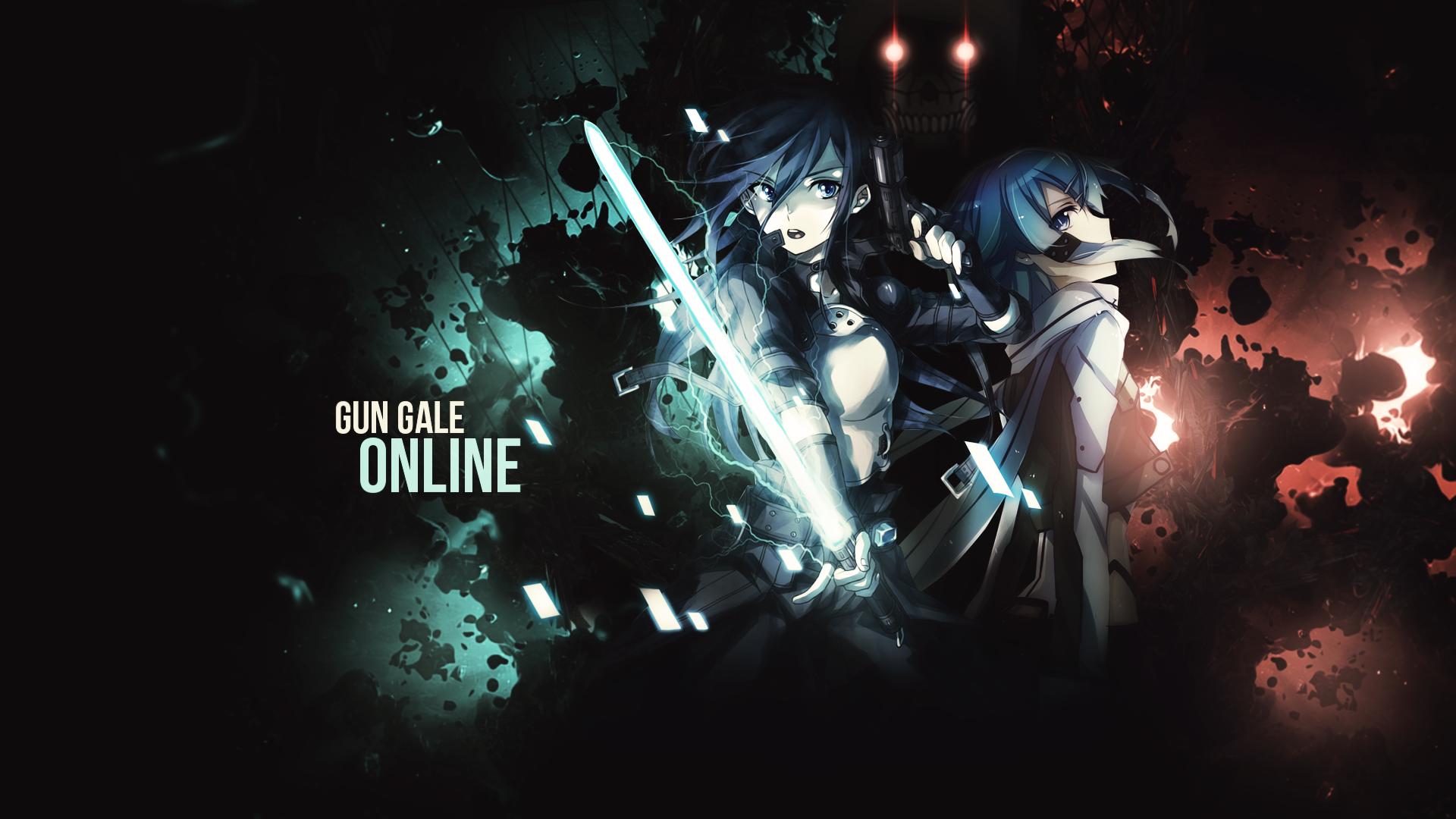 Sword Art Online 2 Ggo Wallpaper By Strengxd On Deviantart