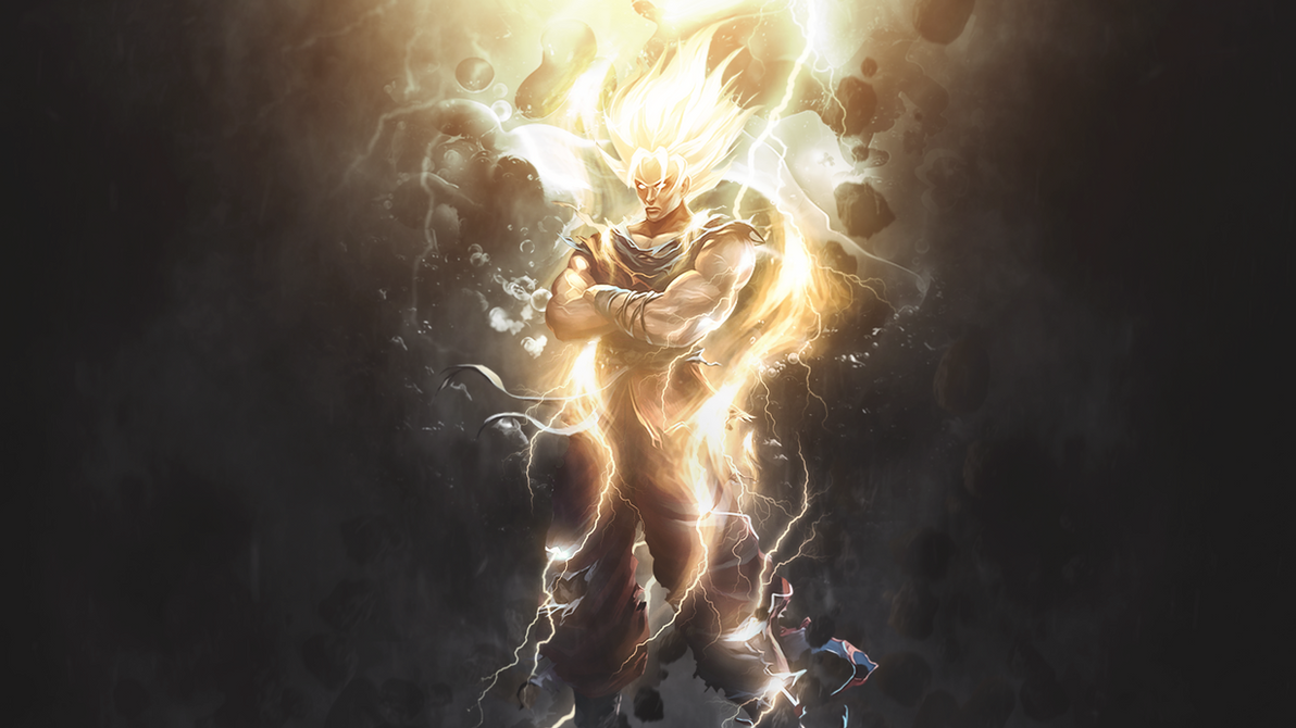 goku - wallpaperstrengxd on deviantart
