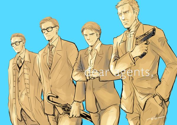 Spy Crossover by revolver277