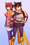 Commission: Makoto and Anama