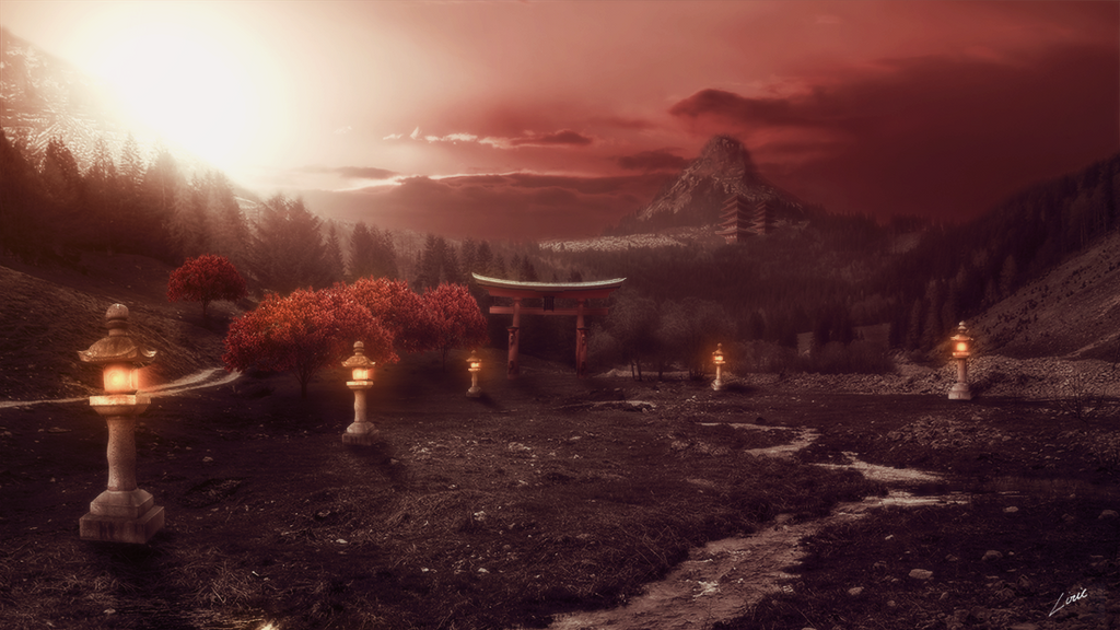 The red path by idelirie