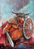 Viking Chicken by blazi76