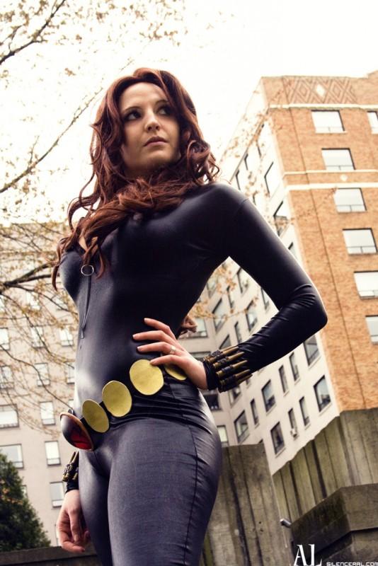 Black Widow surveillance by taslishaw