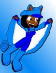 Flying Squirrel Sophie :D