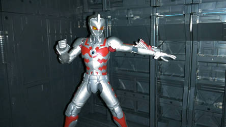 Ultraman Ace suit